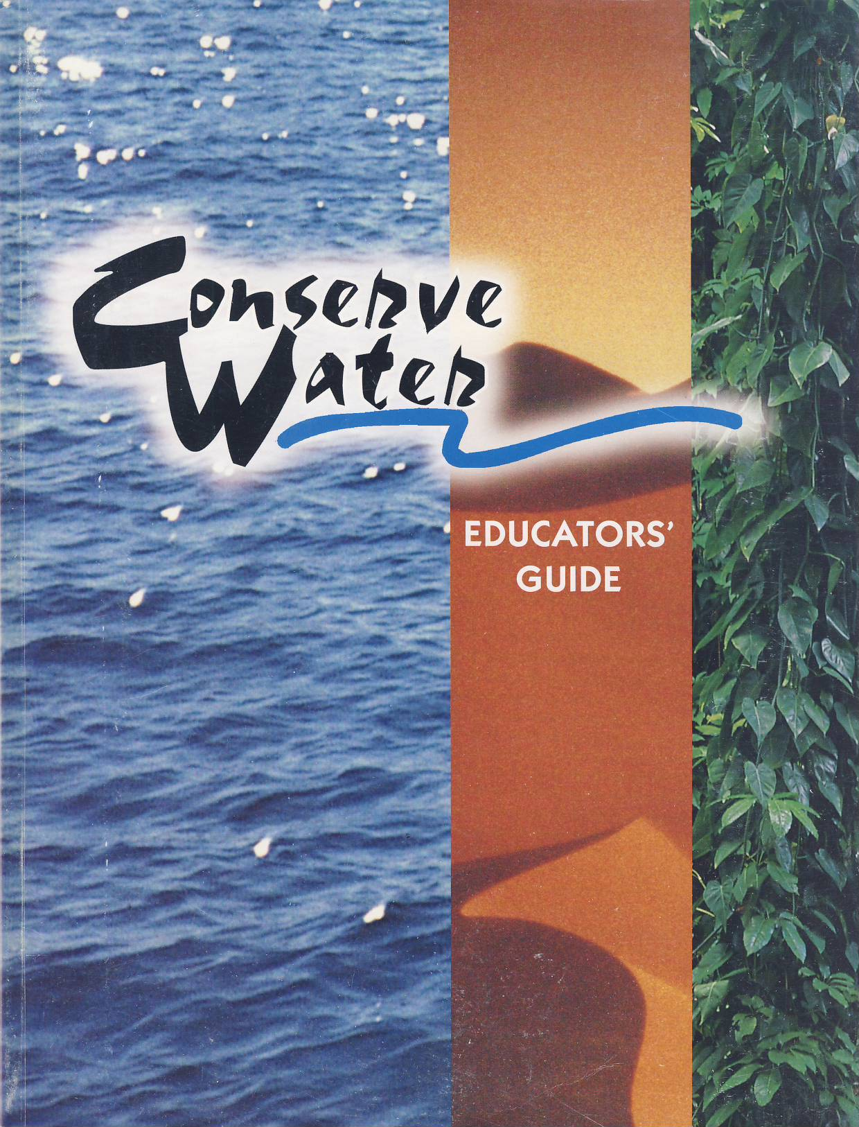 Cover of Conserve Water - Educators Guide