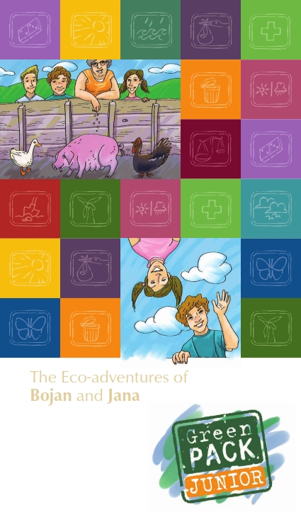 Cover of The eco-adventure of Bojan and Jana
