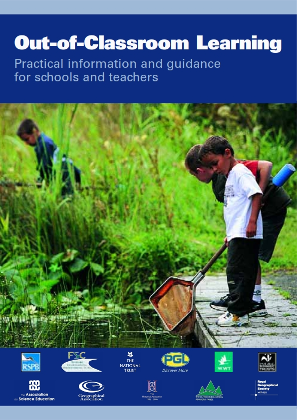 Cover of Out of the classroom learning