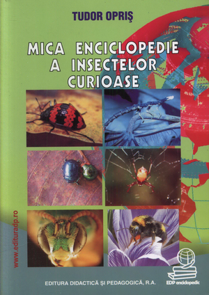 Cover of Mica enciclopedie a insectelor curioase